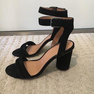 Madewell Rosalie High-Heel Sandal (suede)